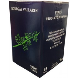 Vallarín Box barrica (15 litros)